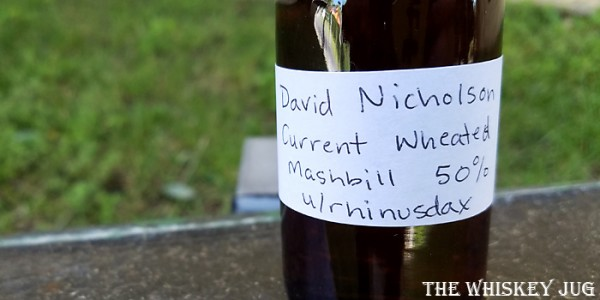 David Nicholson 1843 Label
