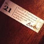 Booker's # 21