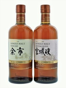 Yoichi and Miyagikyo Moscatel finish