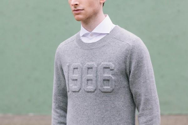 white-collar-grey-crewneck-sweater-style