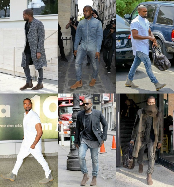 kanye west chelsea boot