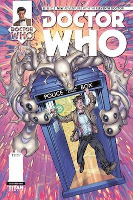 Doctor Who: The Eleventh Doctor #11 cover