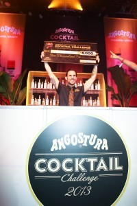 Angostura Cocktail Challenge winner Yani Frye of Detroit's The Sugar House
