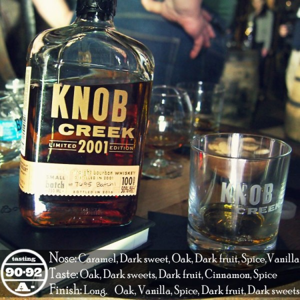 Knob Creek Vintage 2001 Review