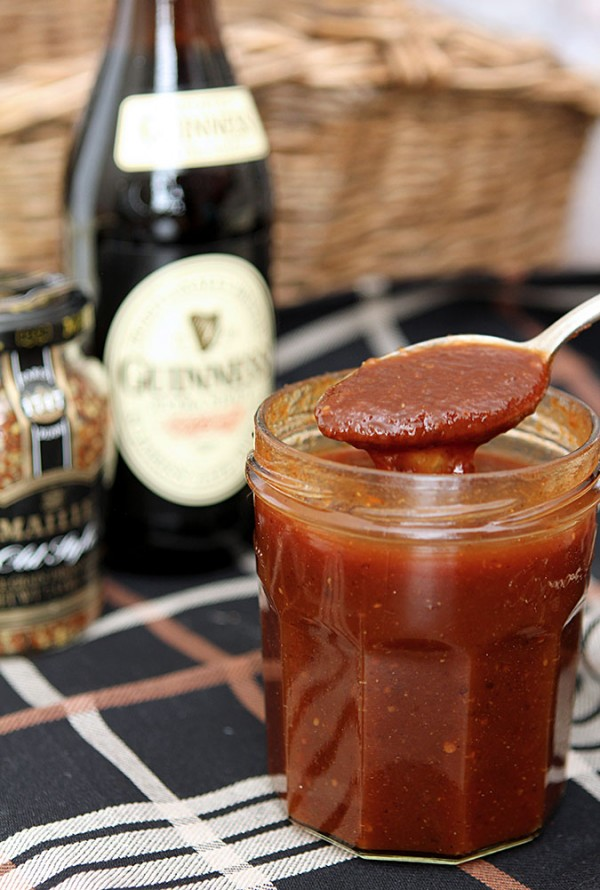 Homemade Guinness Irish Stout Ketchup
