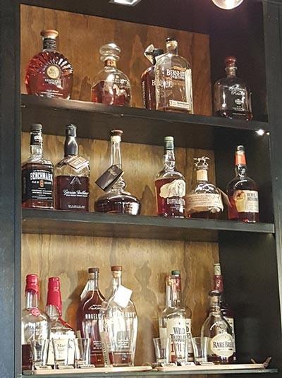 Sidebar Bistro Aruba Bourbon Selection Photo