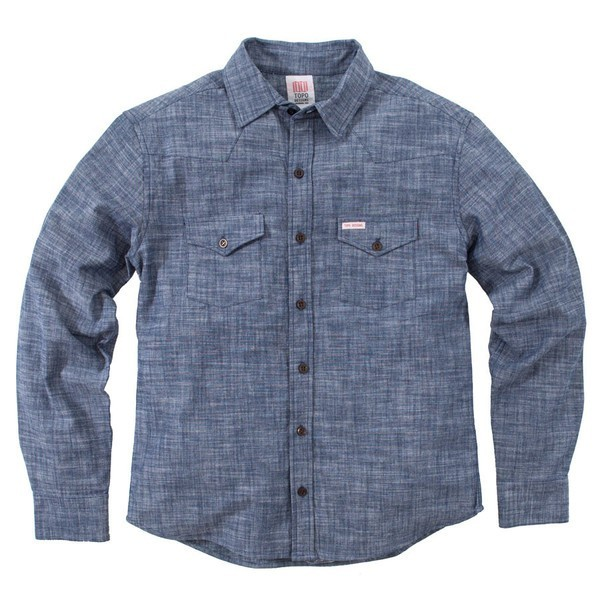 Topo Designs MOUNTAIN SHIRT - CHAMBRAY