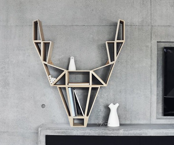 Storing your favorite books at home just got an artistic look in the form of this Deer Shelf