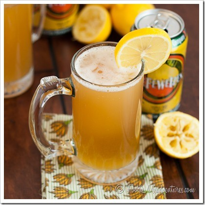 Image result for lemon shandy