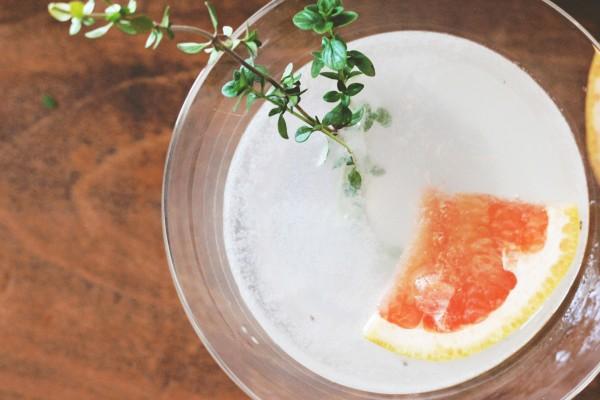 Hendricks Gin Sage Grapefruit Cocktail 6