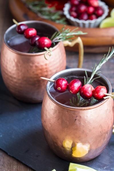 Cranberry Cider Mule Image