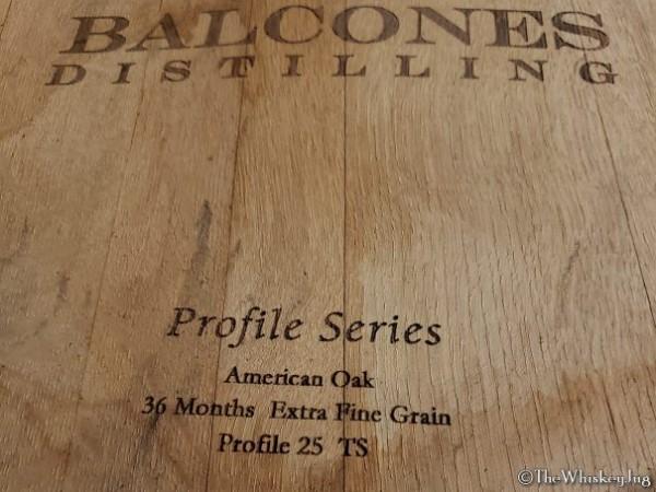 Balcones Distillery barrell