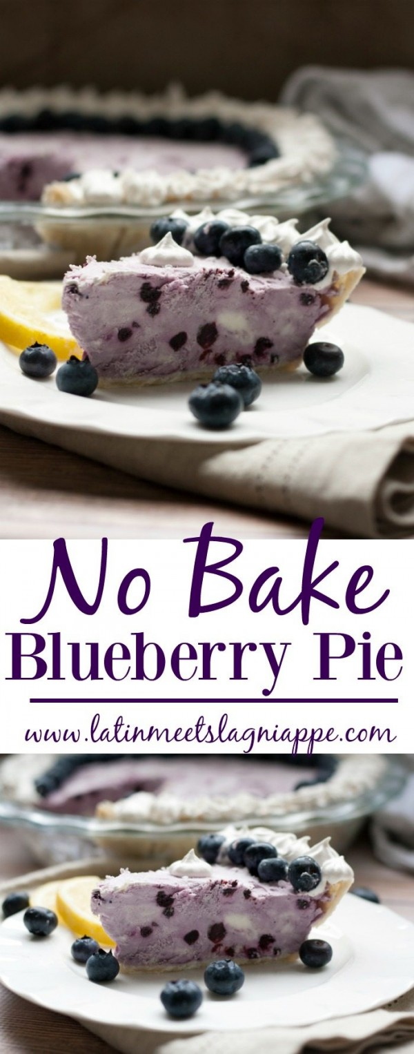 No Bake Blueberry Pie by Paige Estigarribia | Epicurious Community ...