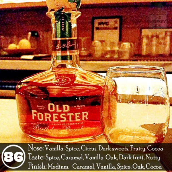Old Forrester Birthday Bourbon Review