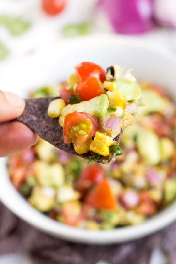Grilled Corn + Avocado Salsa by Alyssa Rimmer | Epicurious ...