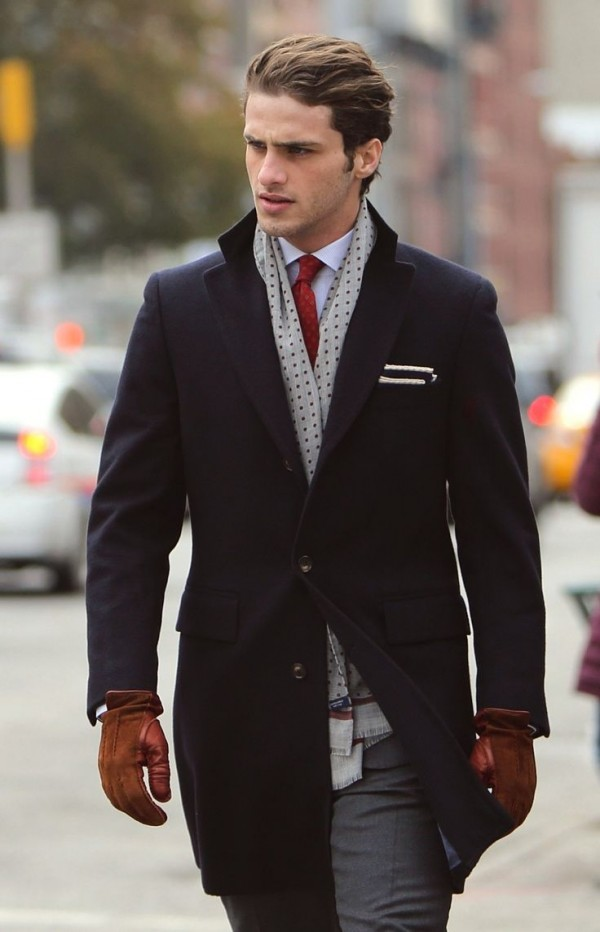 Practical and stylish in a traditional suit.