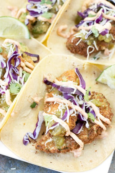 Fried Avocado Tacos Picture