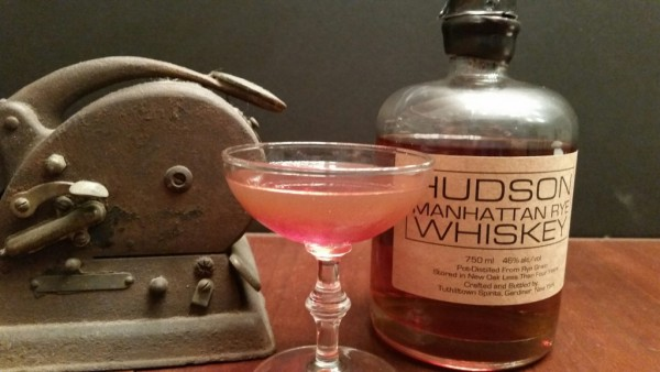 The Absolutely Perfect Manhattan using Hudson Manhattan Rye Whiskey. One of the best Manhattans possible.