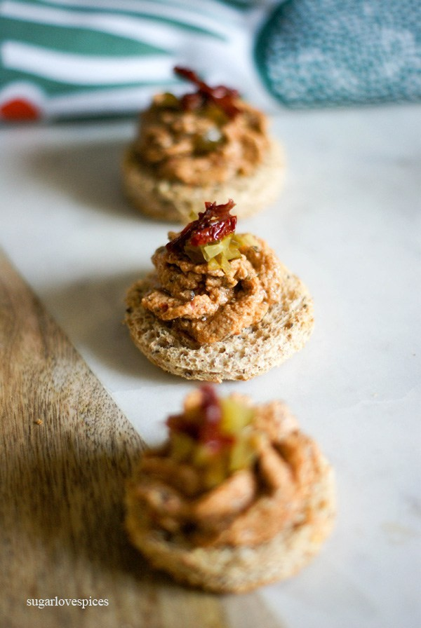 Fresh salmon mousse canap s by sugarlovespices for Salmon mousse canape