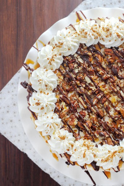 Gingersnap Turtle Icebox Cake Image