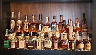 Sidebar Bistro Aruba Bourbon Selection
