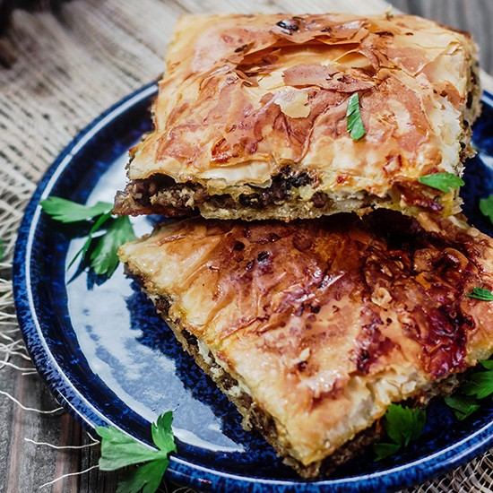 Ground Beef Phyllo Recipe: Phyllo Meat Pies