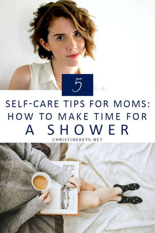 5 Self-Care Tips For Moms: How To Make Time For a Shower || Learn why self-care is crucial in motherhood and practical tips for how to implement it. #parenting #motherhood #selfcare #relaxing #babies #rest