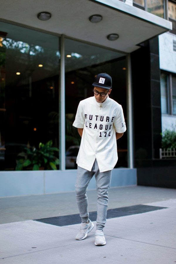 oh anthonio - Anthony Urbano - men's streetwear outfit I Love Ugly Puma x Stampd