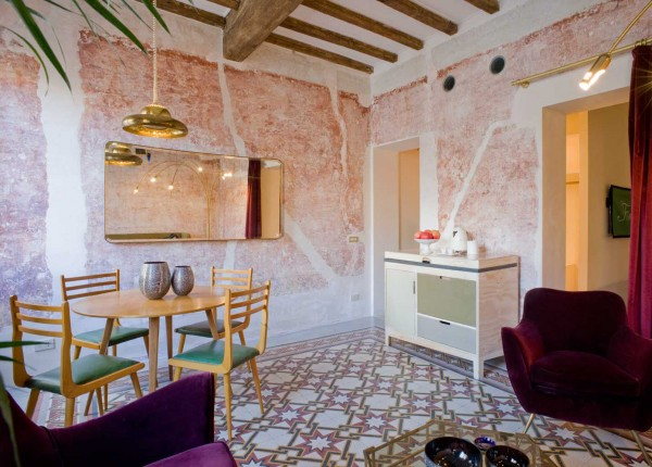 The g rough hotel in rome is paradise for fans of italian for Top design hotels rome