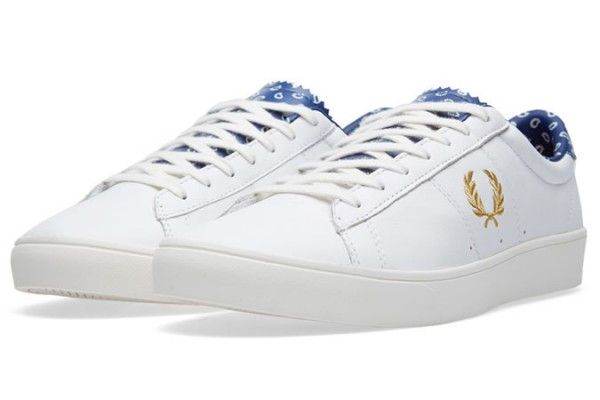FRED PERRY X DRAKE'S SPENCER LEATHER