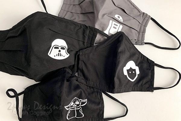 Star Wars Themed Face Masks - Halloween 2020