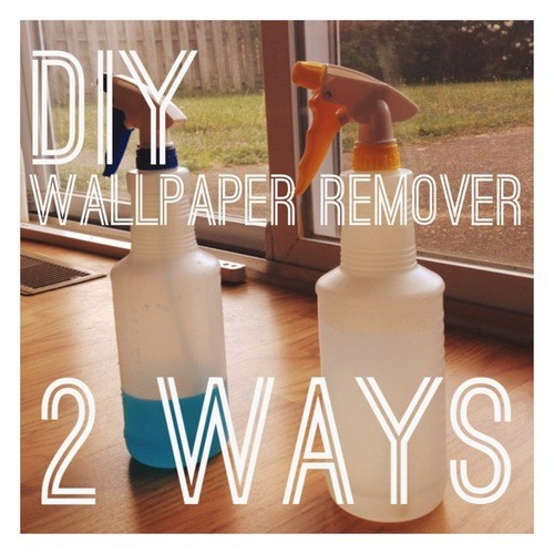 DIY wallpaper remover header