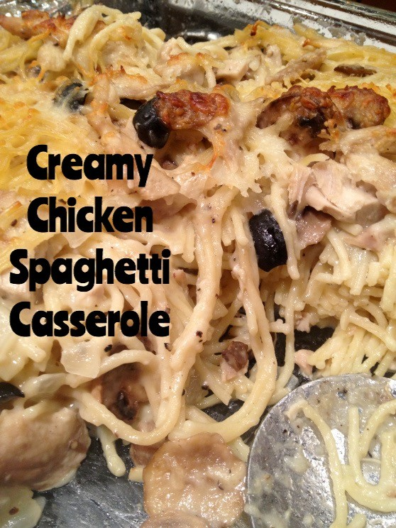 Creamy Chicken Spaghetti Casserole by Blythe's Blog | Epicurious ...