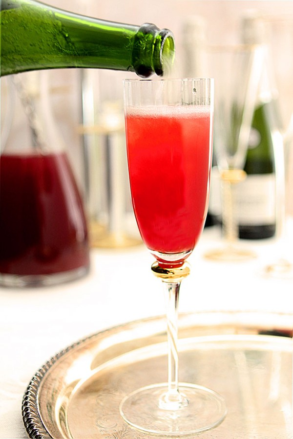 Pomegranate and Blood Orange Mimosas Creative Culinary : DrinkWire