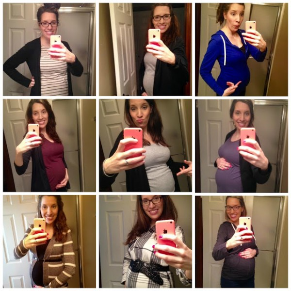 Baby Bump Selfies