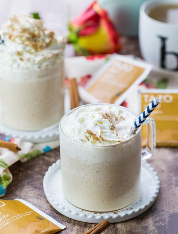 Nothing more comforting and refreshing than a Chai Tea Latte Milkshake! The perfect Summer pick me up! Delicious, creamy, and also super easy!