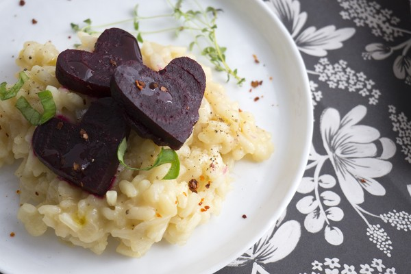 Heart Beet Risotto 5