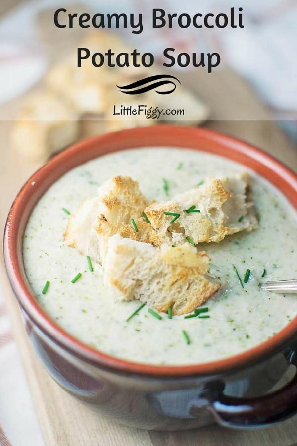 SoupsOn - #BroccoliSoup - #Soup - @LittleFiggyFood