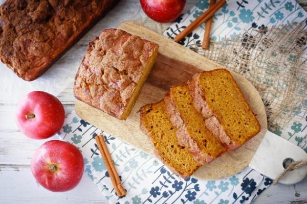 Apple Pumpkin Bread Image