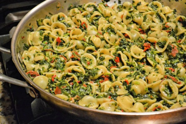 Pasta Florentine with Orecchiette Photo