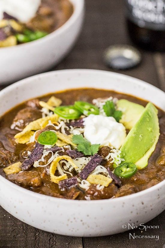 Short Rib Chili with Chocolate Stout - Slow Cooker-42