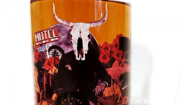 Lonerider Sherry Finish Bourbon Label
