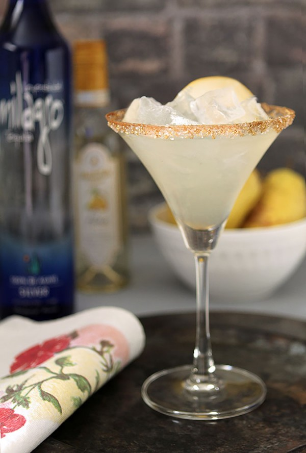 Spiced Pear Margarita