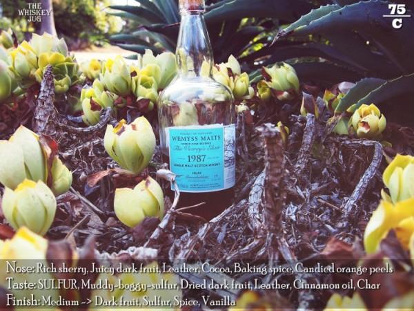 Wemyss The Viceroy's Elixir 1987 Bunnahabhain 29 Years Review