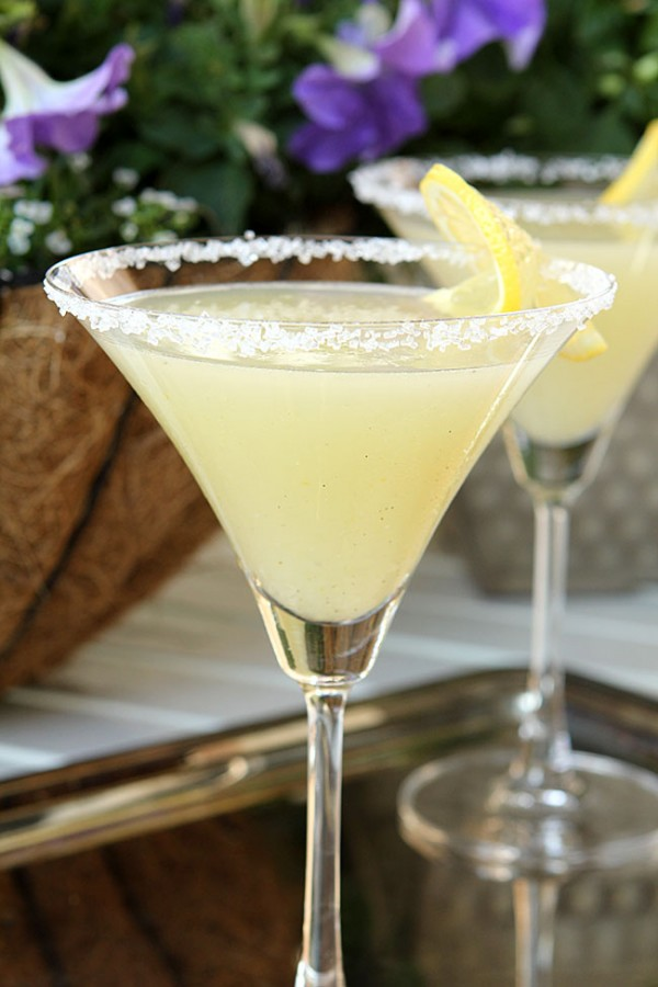Lemon  Drop Martini from @creativculinary