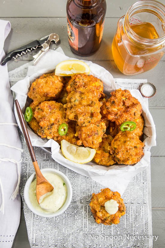 Lobster Corn Fritters-139