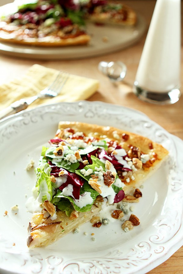 Pear, Gorgonzola and Hazelnut Pizza