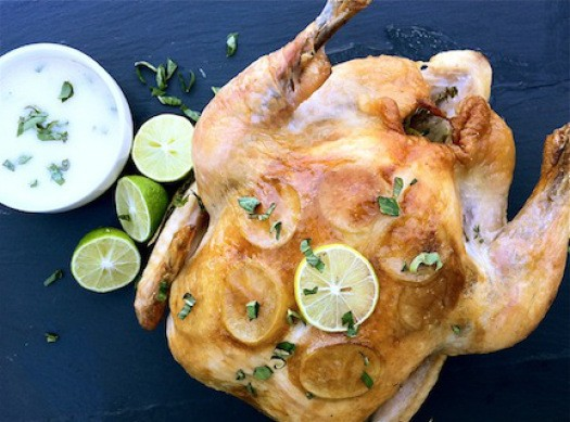 Key Lime + Roasted Garlic Chicken | LocalSavour.com