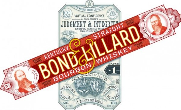Bond and Lillard Bourbon Label