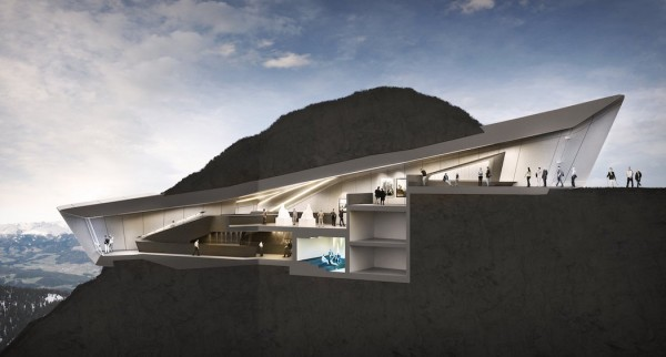 Messner Mountain Museum Corones by Zaha Hadid Architects 4